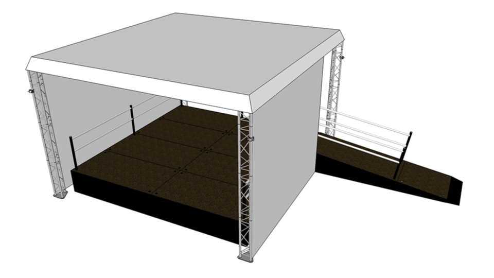 Stage 2 with accessinility ramp
